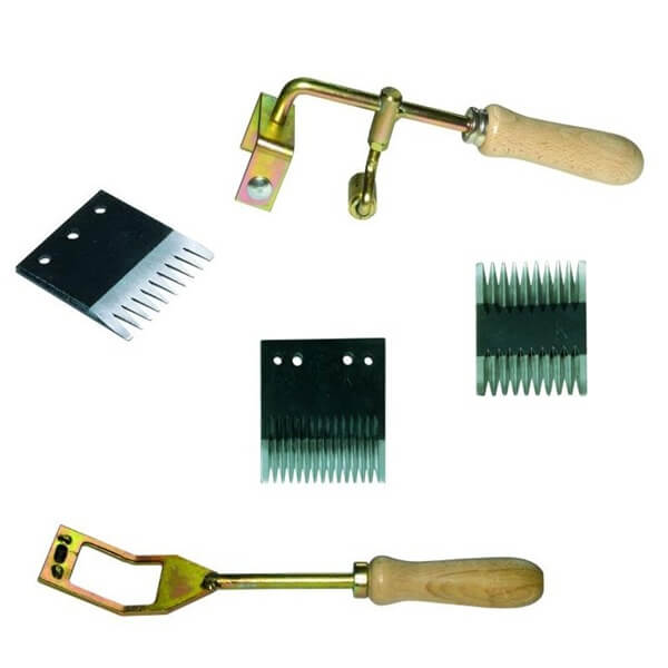 tyre trimming tools & blades